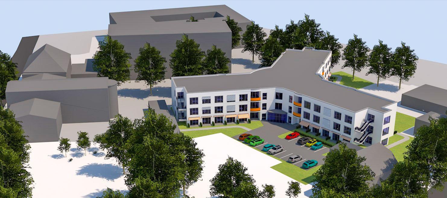 Errichtung eines Therapiepavillons Geschwister-Scholl-Straße 4, 06712 Zeitz